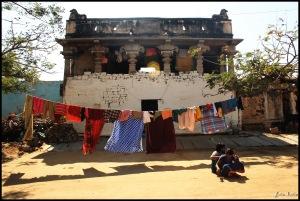 Home in ruins. Hampi, Dec 2011